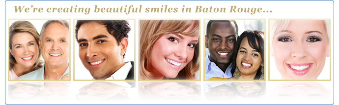 We're creating beautiful smiles in Baton Rouge.